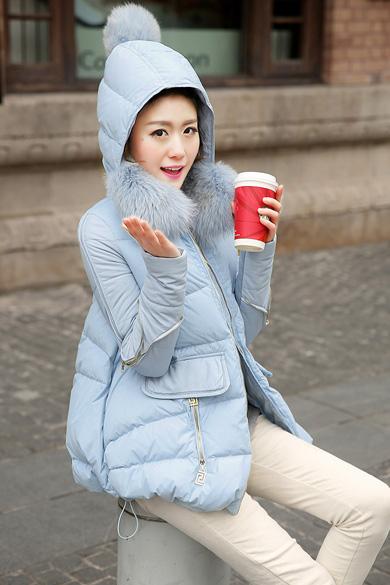 衣饰馨语2014冬装新款潮