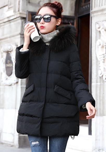 衣饰馨语2017冬装新款女